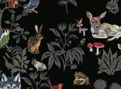 capharnaumblog: papier peint Forêt Noire marque DOMESTIC,...