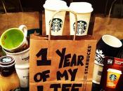 Elle mange matin, midi soir Starbucks pendant jours