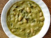 soupe pesto avec gnocchi, bette carde haricots blanc bien sûr, bonne nouvelle année tous