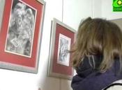 """reportage télévision russe """"Soyouz"""" vernissage l'exposition l'Incarnation Résurrection"""" Paris"""