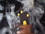 Gâteau halloween victoria sponge cake