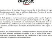 Municipales 2014 liste citoyenne apolitique entre scène Limoges