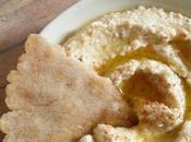 Houmous pita {sans gluten, lactose}