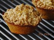 Muffins poire flocons d'avoine