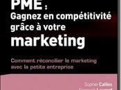 """Livre """"PME gagnez compétitivité grâce votre marketing Sophie Calliès François Laurent"""