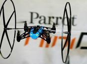 2014 Parrot lance nouveaux jouets connectés Mini Drone Jumping Sumo