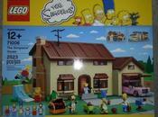 LEGO Simpson débarquent briques danoises