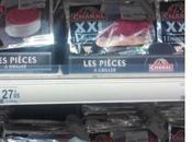 antivols viande chez Auchan