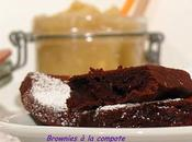 Brownies Compote Pommes