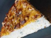Gâteau chou fleur, fromage blanc parmesan