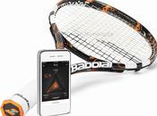 2014 Babolat lance toute première raquette tennis connectée monde