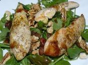 Salade poulet fruits secs