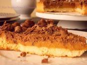 Tarte caramel beurre salé mousse chocolat
