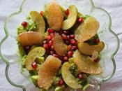 Salade avocats-pommes-pamplemousse