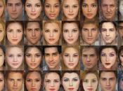 visages humains sont personnages Disney