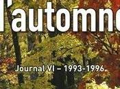 Livre Lumières d'automne Charles Juliet