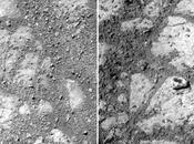 étrange caillou apparu côté rover Opportunity
