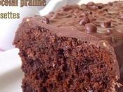 Cake Infiniment chocolat praline noisettes