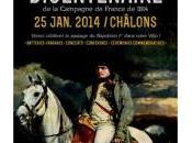 """Samedi janvier Châlons célébrations bicentenaire Campagne France"""" 1814, suivi nombreuses manifestations dans région."""