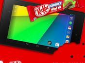 Galaxy Note tourneront sous KitKat mars prochain