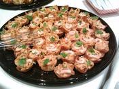Bouchées croustillantes thaï crevettes