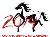 Nouvel chinois Bonne année Cheval