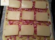 Pizza raclette gruau d'or-