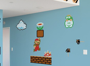 Stickers géants Super Mario Bros. nouvelle version