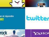 Ados Réseaux Sociaux Twitter, Snapchat, Youtube, Facebook.