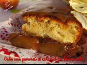 Cake pommes caramel beurre salé