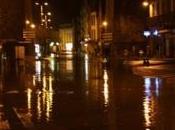 Inondations. centre-ville Morlaix sous eaux (vidéo)