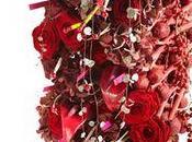 Tendance Interflora février passion avec fleurs rouges