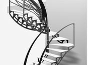 L'escalier design papillon