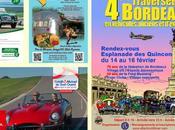 Traversée Bordeaux véhicules d'époque 16/02/2014