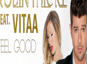 Vitaa joint Robin Thicke single, Feel Good.
