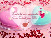 """Cœurs bain moussants pour """"Lui Elle"""""""
