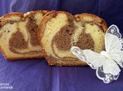 Cake marbré l'orange