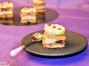 Carrés foie gras chocolat