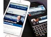 L'US Force s'offre 5000 appareils pour remplacer BlackBerry