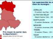 2014, quels sont supermarchés moins chers Auvergne