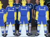 Chelsea collaboration avec Simspsons