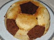 Gâteau Ballon foot sans gluten.