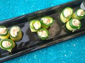 Roulade courgettes thon