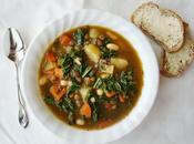 Hummmmm...humez cette bonne soupe nutritive légumineuses verdures (Beans Greens Soup)