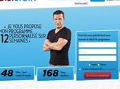 Benjamin Castaldi lance site coaching sportif diététique