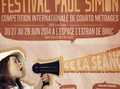 "Festival International Film Court ""Paul Simon"" (27/28/29 juin 2014, Binic)."