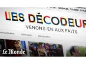 Monde lance Décodeurs, site dédié fact-checking