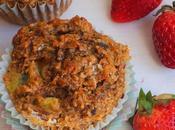 Muffins banane, kiwi gingembre {sans sucre ajouté}