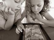 L'ipad avec yeux d'enfants applications pour bambins