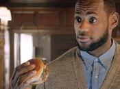 Lebron adore Bacon Clubhouse sandwich McDo